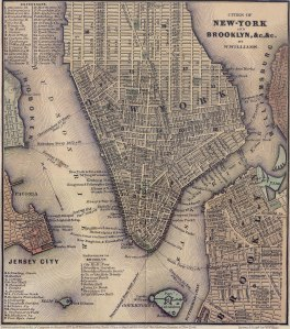1847_Lower_Manhattan_map